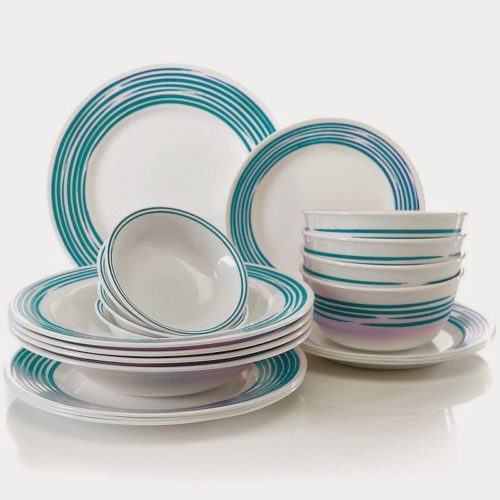 Blue and White Dishes from Miracles Happen